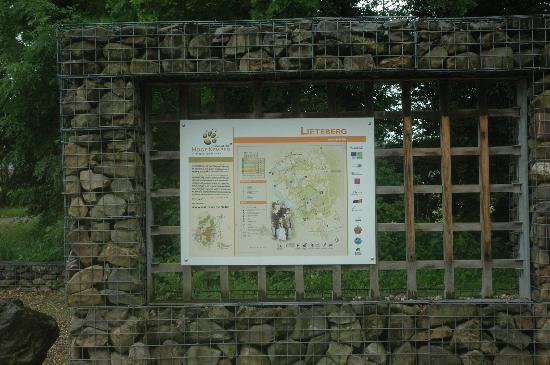 Hoge Kempen National Park : Gateway in Lieteberg