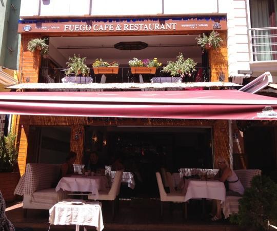 Fuego Restaurant: fuego 2012