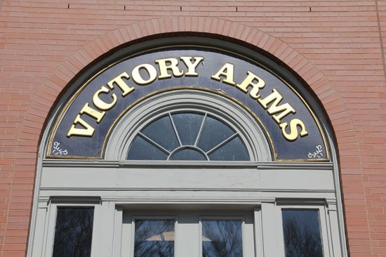 The Arms : Watch for the Sign Over the Patio