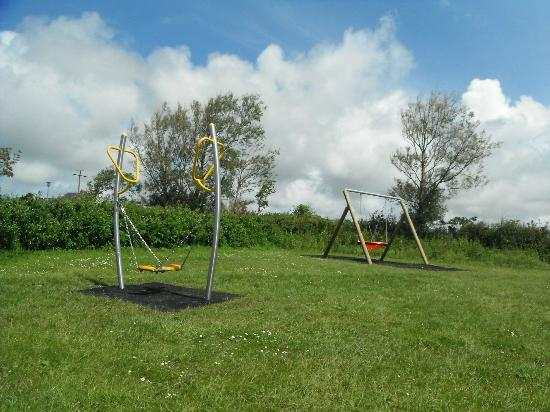 Pitton Cross Camp Site: Play Ground new 2012