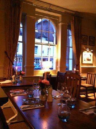 The Swan Hotel: ristorante