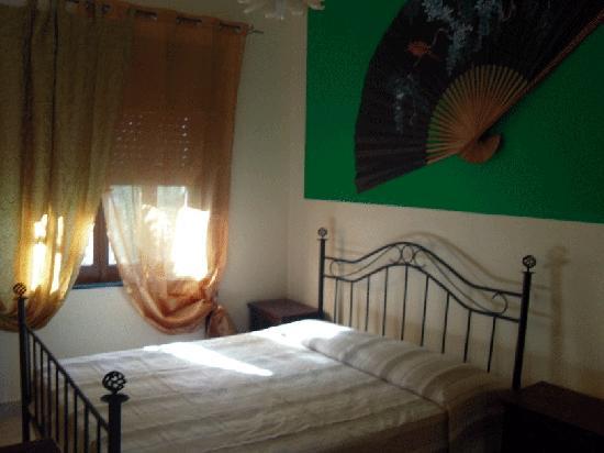Villa Pia: camera con angolo cottura
