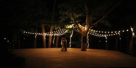Blackberry Creek Retreat: perfect location for a wedding and reception