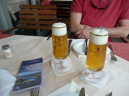 Restaurant La Gondola : Very good fresh beer!