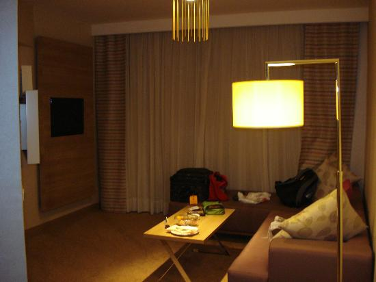 Kaya Izmir Thermal & Convention: living room of suite