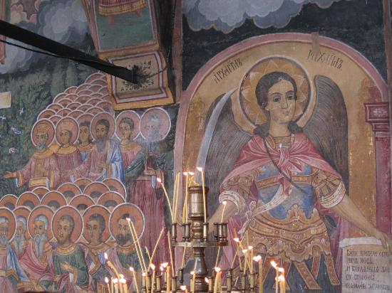 Troyan Monastery: fresque