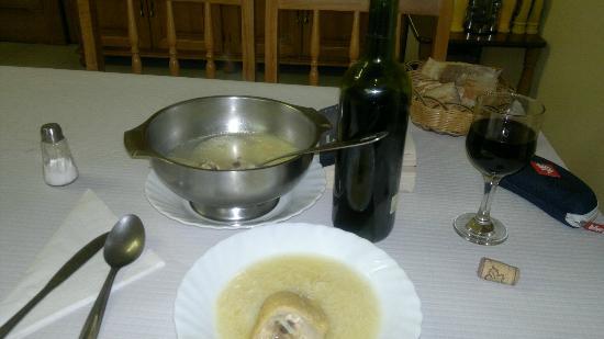 Hotel Xaneiro Melide: Chicken Noodle Soup