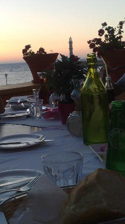 Agia Marina, Grecja: View from the table