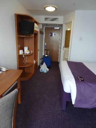 Premier Inn London Stratford Hotel: Chambre 1 personne - single