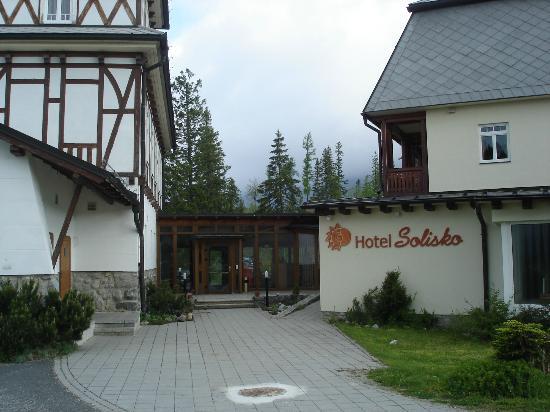 Hotel Solisko : widok hotelu