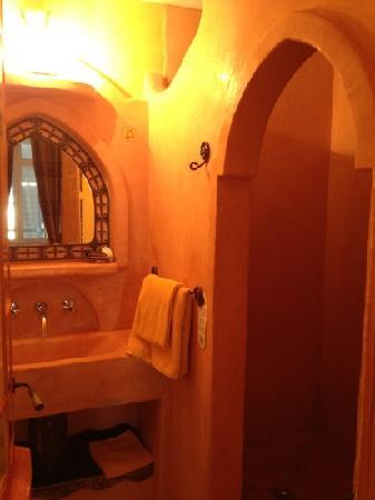 Hotel l'Astrolabe: Moroccan room