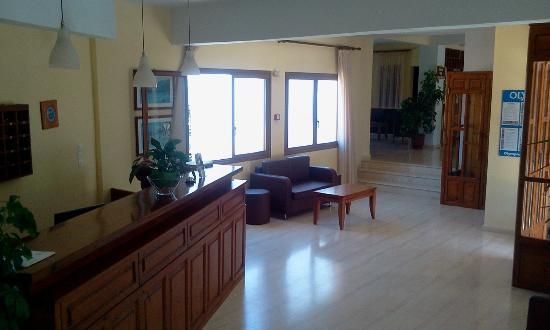 Hotel Vontzos : reception