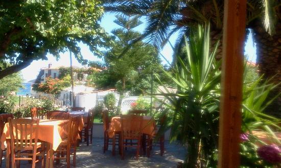 Hotel Vontzos : restaurant view