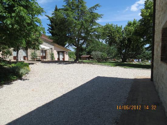 Casali del Toppello: Reception e sala da pranzo