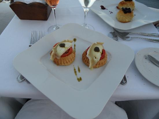 Starter picture of ambrosia restaurant oia tripadvisor for Ambrosia mediterranean cuisine