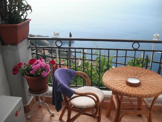 Villa Donna Fausta: petite terrasse