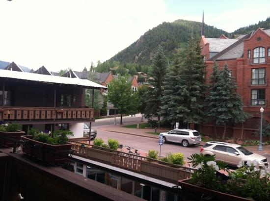 Mountain Chalet Aspen: view from our room