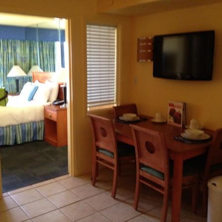 Ocean Sands Resort: bedroom view