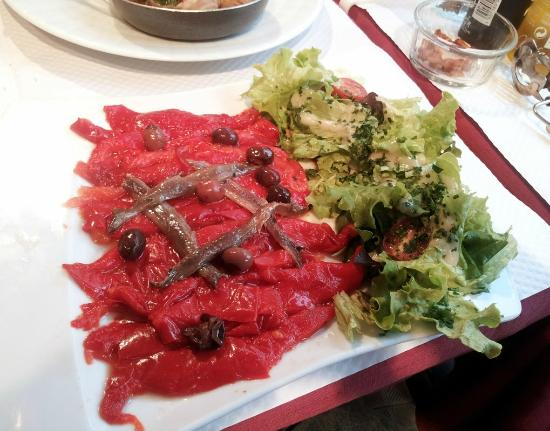 Le Catalan : pepers and anchovies