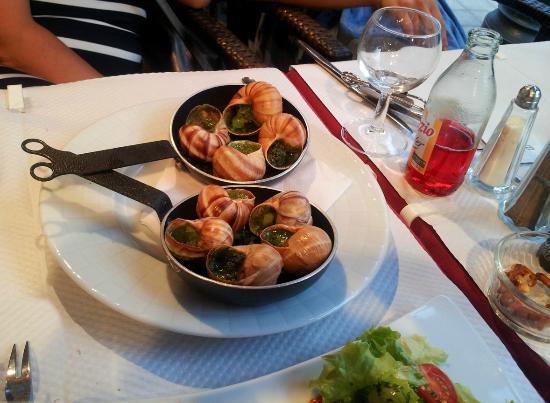 Le Catalan : escargots