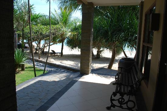 Outside Front Door Of Room Picture Of Palm Beach Resort Jepara Tripadvisor