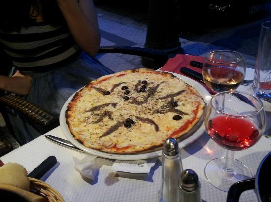 Le Catalan : pizza