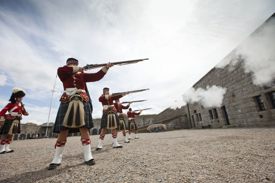 Soldier for a day Program at the Halifax Citadel