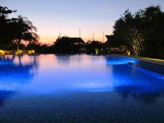 Marina Paraiso: Swimming pool with gourgeous view