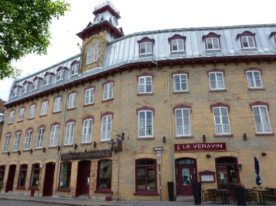 Hotel Le Saint-Paul: Fachada del hotel