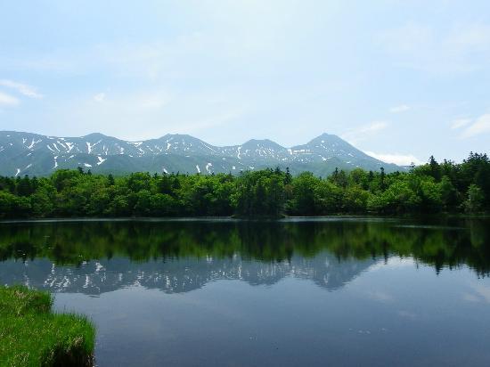 斜里町, 北海道, 2湖と知床連山