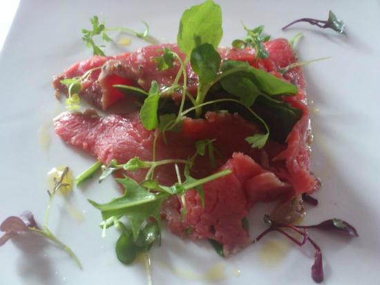The Rendezvous Bar & Restaurant: Beef Carpaccio