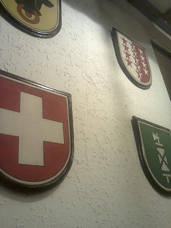 Old Swiss Inn: wall decor