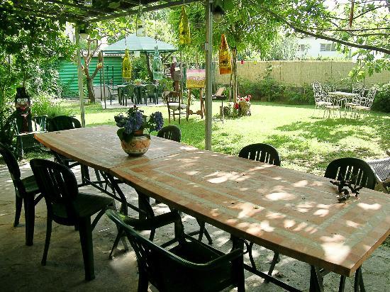 B&B Casa Anita: Il pergolato esterno di Casa Anita sotto cui d'estate sarà possibile far colazione o riposarsi!