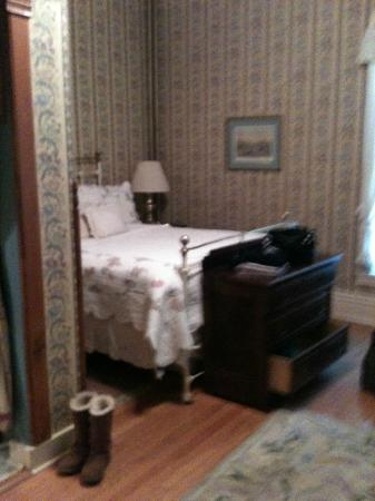 Voss Inn: the room on the ground floor