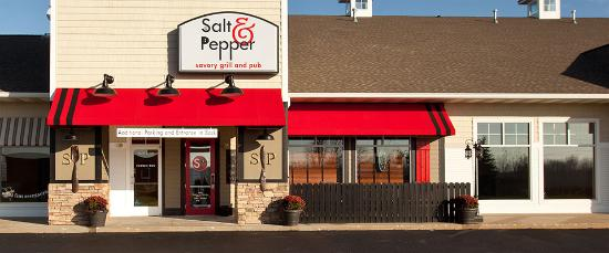 Salt and Pepper Savory Grill & Pub : In the Crossings Strip Strip Mall.