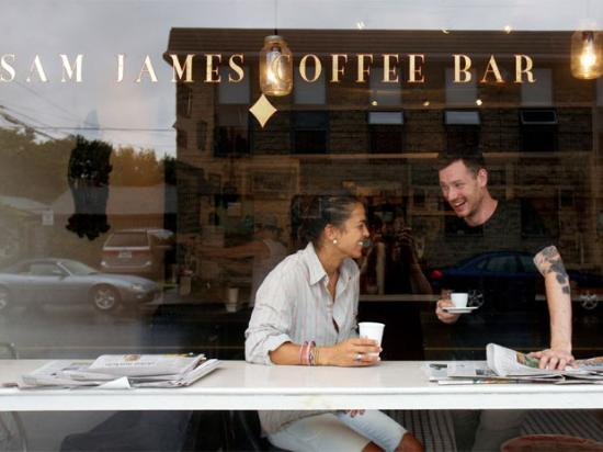 Photo of Cafe Sam James Coffee Bar at 297 Harbord Street, Ontario M6G 1G7, Canada