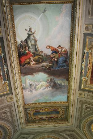 Art at the Vatican Museum.