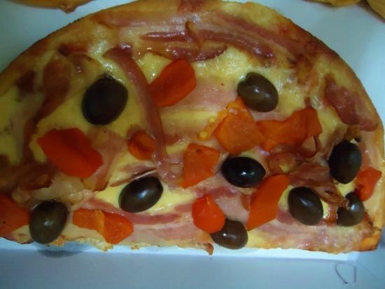 La Marcianita: Pizza , muy rica .