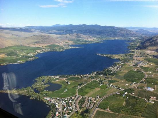 Wine Country Helicopter Adventures Ltd : The spectacular Okanagan Valley