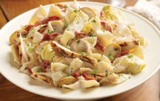 Chicken romano pasta recipe