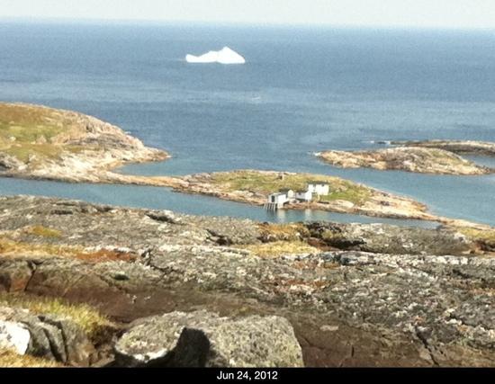 Battle Harbour National Historic District: Iceberg near Battle Harbour