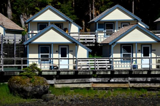 Waterfall Resort Alaska: Waterfall Resort cabins