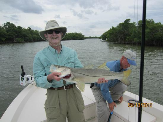 Captain Mike Merritt's Native Guide Service: 36 in snook taken on first day