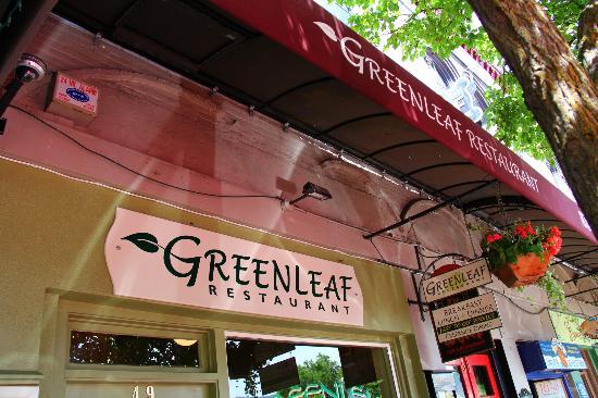Greenleaf Restaurant: Out Front