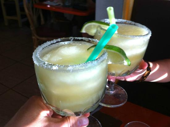 Rancho Chico: The amazing and delicious margaritas at Chico's