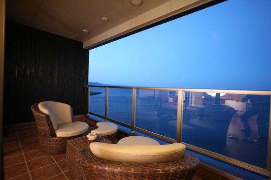 Seikai : 海の棟客室テラス