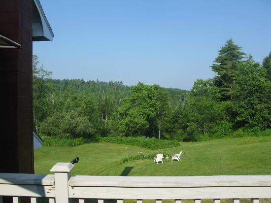 Barron Brook Inn: Backyard view