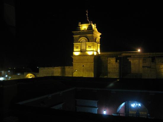 Hotel Asturias: Santa Catalina Monastery, as seen from the room