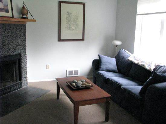 A&E Bed and Breakfast: Private living area