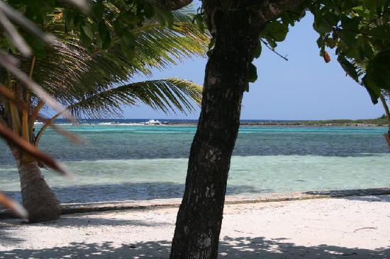 Barefoot Cay Resort: Cabana view